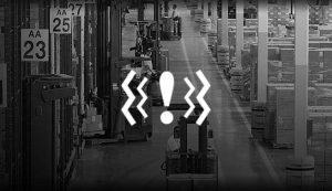 Forklift Darbe Sensörü
