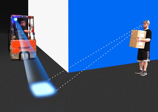 Forklift Spot Işık (Mavi)